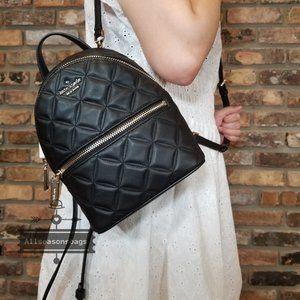 KATE Spade Mini Natalia Backpack Crossbody LEATHER